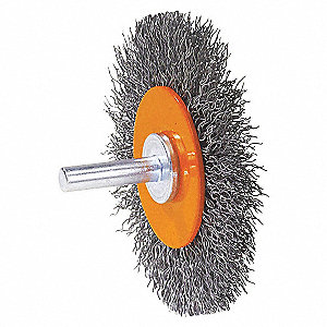3 X1/4 MTD WHEEL BRUSH, STST