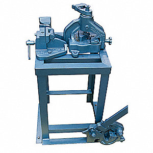Combo Shear/Bender/Notcher,2 x 2 x1/4 in