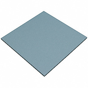 Blue Cutting Board, Standard Grade High Density Polyethylene (HDPE)