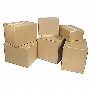 BOX CARTON 8X6X4IN 25/PK 32ECT