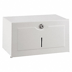 Paper Towel Dispenser,(400) S-Fold,White
