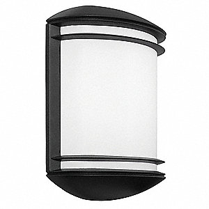 "3-3/4"" x 8-7/8"" x 12-1/2"" 9 Watt LED Architectural Wall Sconce, Dark Bronze"