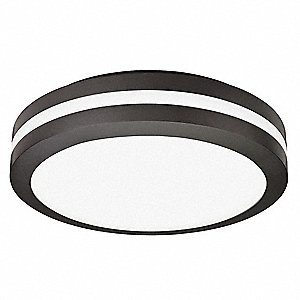 LED Ceiling Light,Bronze,17W