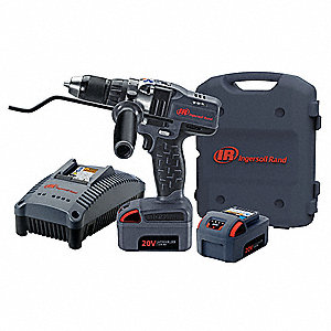 "IQV20 Li-Ion 1/2"" Cordless Drill/Driver Kit, Battery Included"