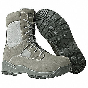"8""H Men's ATAC Sage CST Boot, Composite Toe Type, Suede/Nylon Upper Material, Sage Green, Size 8-1/2"