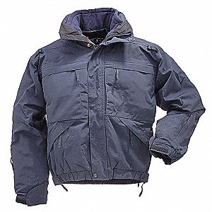"5 in 1 Jacket, LT Fits Chest Size 42"" to 44"", Dark Navy Color"