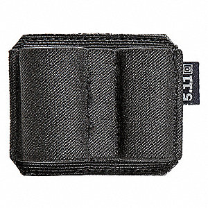 Flashlight Pouch, 500D Nylon, Black