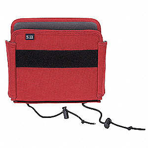 Turnout Pocket Organizer,Tactical,Red