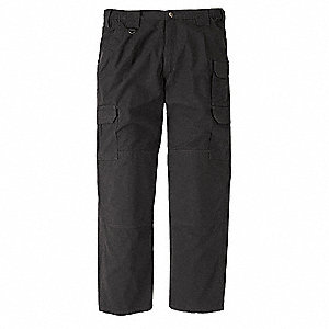 GSA Tactical Pants,Size 34,Black