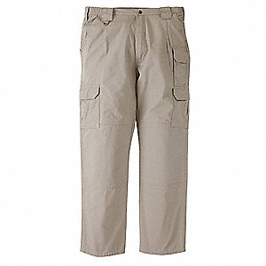 GSA Tactical Pants,Size 28,Khaki