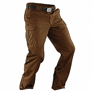 "Stryke Pants. Size: 38"", Fits Waist Size: 38"", Inseam: 36"", Battle Brown"