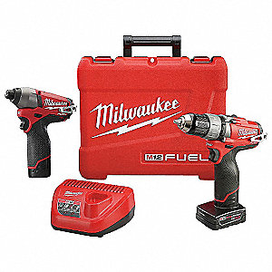 M12 FUEL™ Cordless Combination Kit, 12.0 Voltage, Number of Tools 2