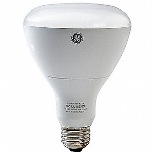 12 Watts White R30 LED Lamp