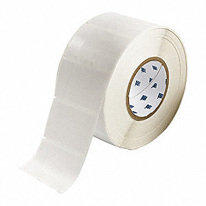 "White on Translucent, 1500 Labels per Roll  3-3/16"" H x 1-29/32"" W, 1 EA"
