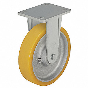 "6-1/4"" Plate Caster, 1760 lb. Load Rating"