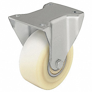 "4"" Plate Caster, 1540 lb. Load Rating"