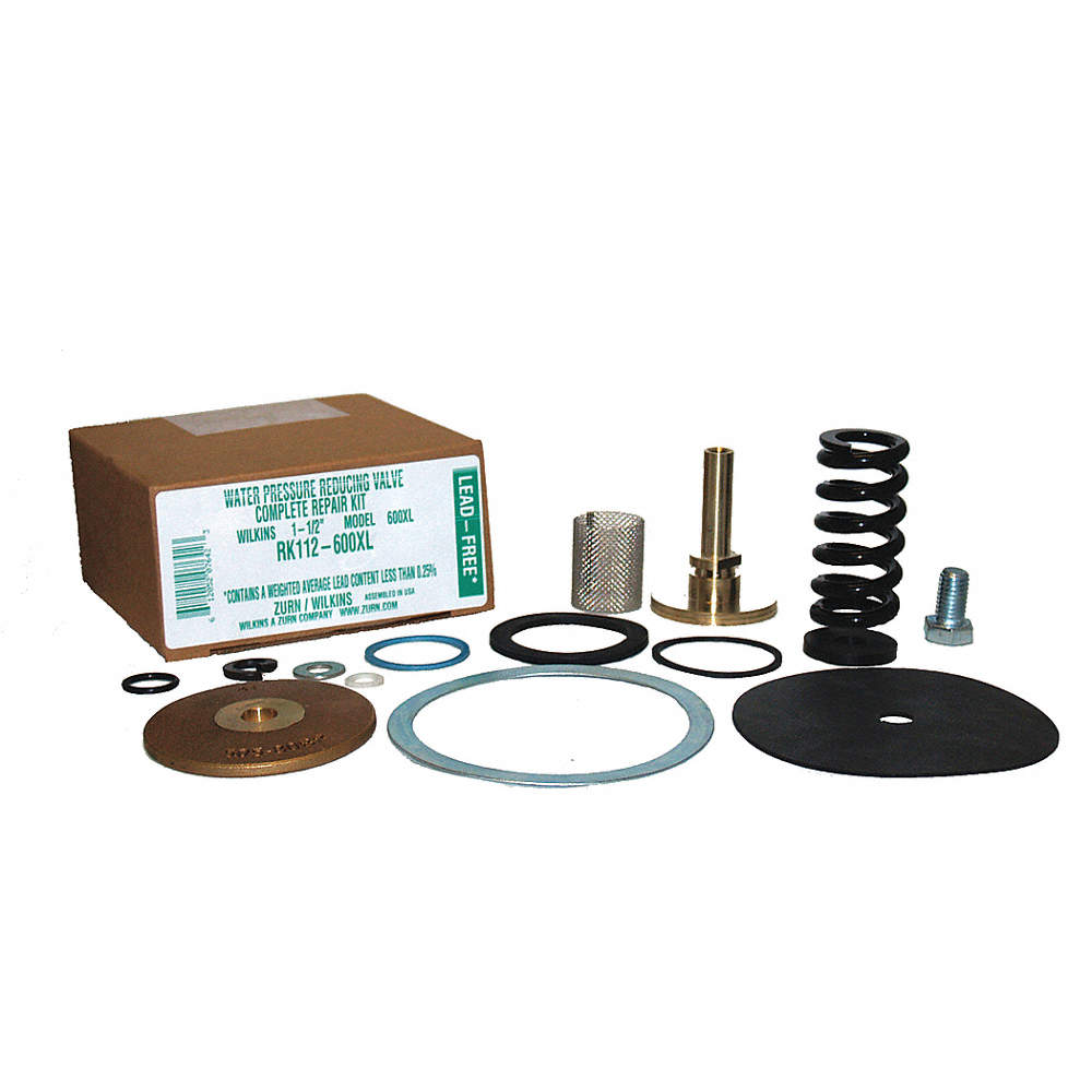 Repair Kit, Rubber, Steel, Zinc, Brass, Mfr  No  112-600XL For Use With