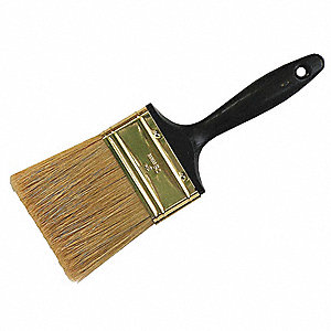 "3"" Flat Sash China Hair Paint Brush, for Oil Based, 1 EA"