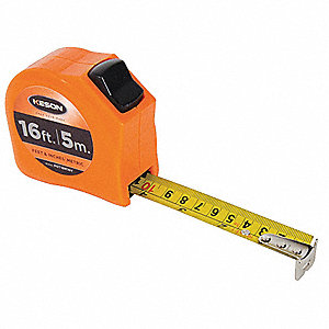 MEASURING TAPE,1 IN X 16 FT/5M,ORAN