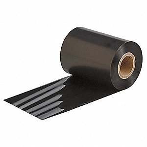 Black Thermal Transfer Printer Ribbon for Use this Brady 6600 Series Ribbon with Bradyprinter PR Plu