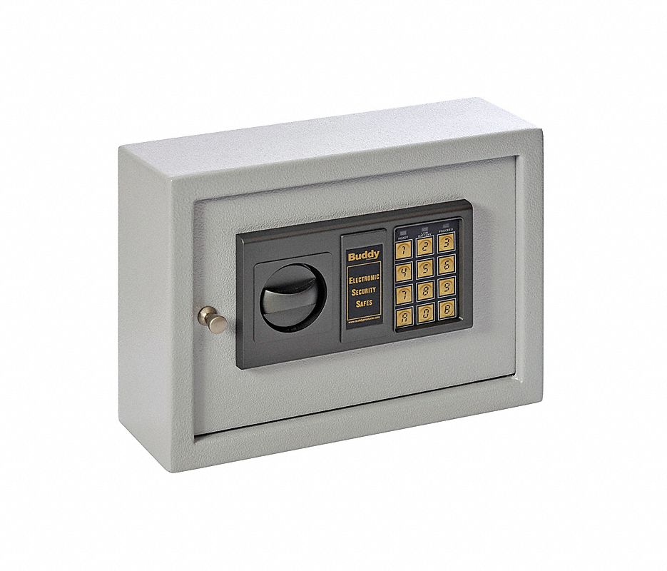Small Drawer Safe,0.28 cu ft,Platinum