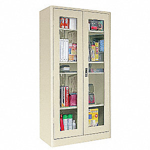 Storage Cabinet,72x36x18,Putty