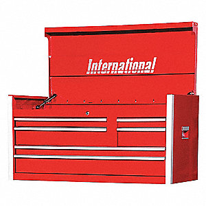PRO 42IN 6 DRAWER CHEST RED