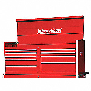 PRO 54IN 9 DRAWER CHEST RED