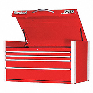 SHD 42IN 4 DRAWER CHEST RED