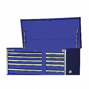 42IN 10 DRAWER CHEST BLUE