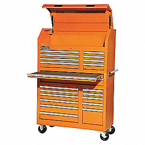 42IN 20 DRAWER TOWER ORANGE