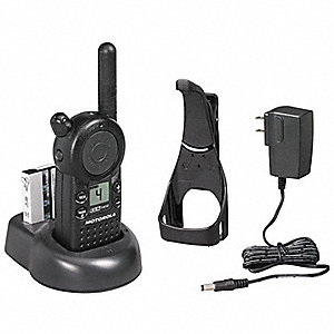 UHF LCD Portable Two Way Radio, Number of Channels 4