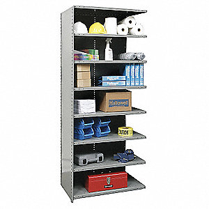 ADDER UNIT HI-TECH CLOSED SHELVING