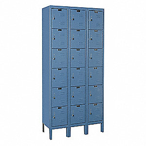 LOCKER PREM 6-TIER 1-WIDE ASSY 1/PK