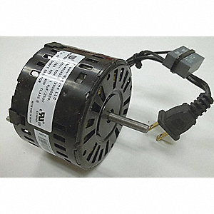 Motor,  For Use With Grainger Item Number 5E832, 5E834,  Fits Brand Broan
