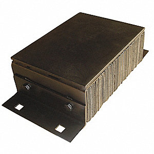 Dock Bumper,10x5-1/4x20 In.