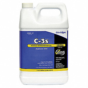 Refrigeration Lubricant, Mineral, 1 gal