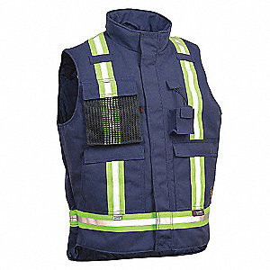VEST INSULATED KERMEL FR XL BLU