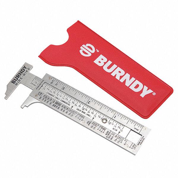 Electrical Wire Gauge Measuring Tool Digital Manifold: BURNDY Wire Measuring Gauge - 22P122