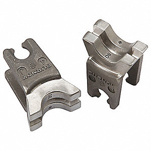 BURNDY Upper and Lower Crimping Die for Electrical Wire and Cable ...