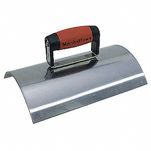 Wall Capping Tool,Masonry,6 In,SS
