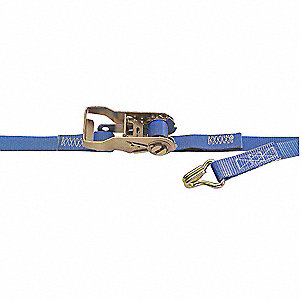 Tie-Down Strap,Ratchet,16ft x 1In,835lb