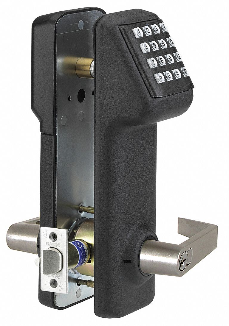 Access Control Keypad, Black Metallic