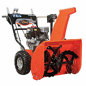 "Snow Blower, Clearing Path:  24"", Fuel Type: Gasoline, 14"" Auger Diameter"