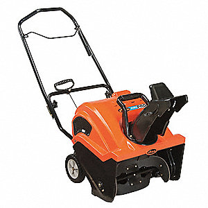"Snow Blower, Clearing Path:  21"", Fuel Type: Gas, 8-13/32  Auger Diameter"