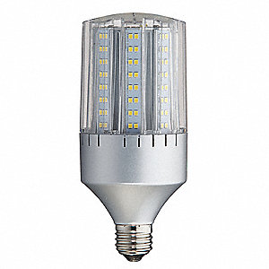 24 Watts LED Lamp, Cylindrical, Medium Screw (E26), 1600 Lumens, 3000K Bulb Color Temp.