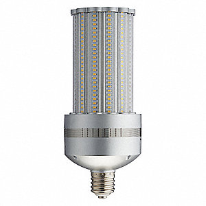 100 Watts LED Lamp, Cylindrical, Mogul Screw (E39), 10,667 Lumens, 4200K Bulb Color Temp.