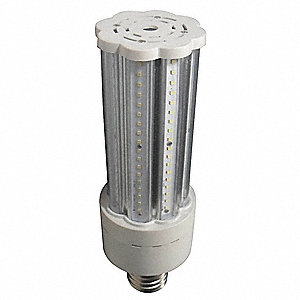 45 Watts LED Lamp, Cylindrical, Mogul Screw (E39), 3400 Lumens, 3000K Bulb Color Temp.