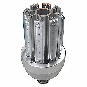 60 Watts LED Lamp, Cylindrical, Mogul Screw (E39), 4800 Lumens, 5700K Bulb Color Temp., 1 EA
