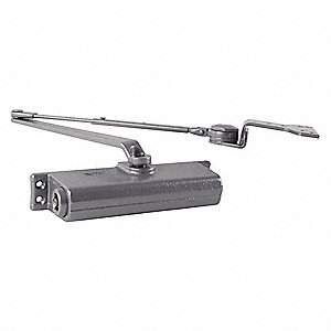 Hydraulic LCN 1261-Series Security Door Closer, Heavy Duty Interior and Exterior, Aluminum